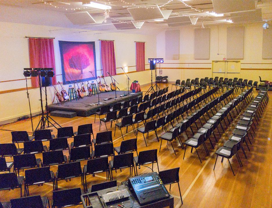 Concert Setup Floor