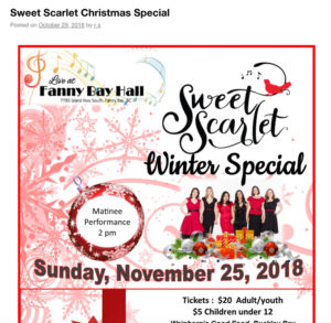 2018 Sweet Scarlet Winter Special