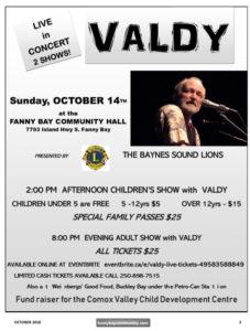 Valdy Concert