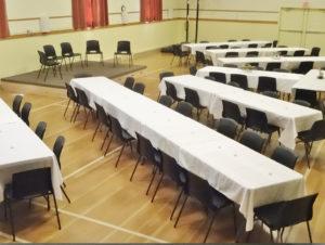 Sample Setup For Large Meeting