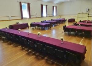 Wedding Setup Side Tables