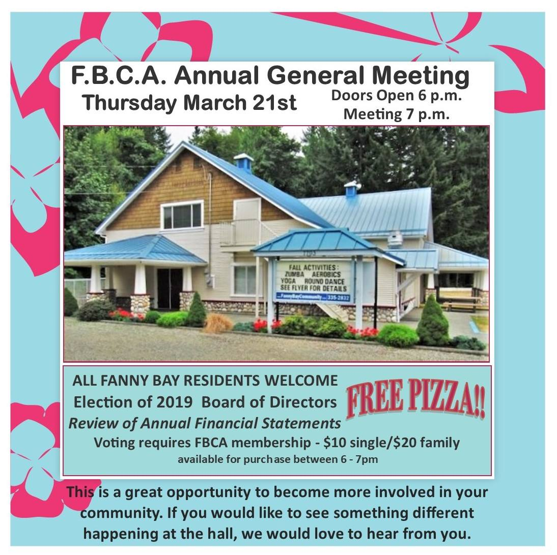 March 2019 AGM