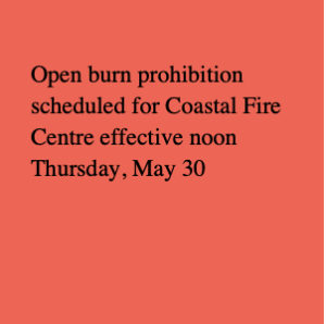 FBFD May 28 Fire Ban Banner