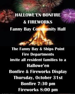 2019 Halloween Bonfire Firewords