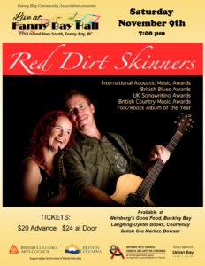 Red Dirt Skinners - Nov 9