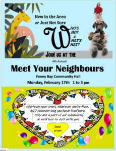 Meet Your Neighbours - Feb 17 1 to 3 pm