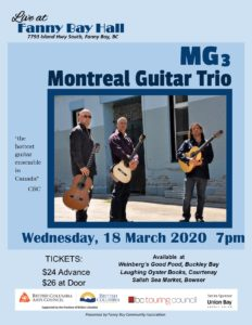 Montreal Guitar Trio - *** CANCELLED ***